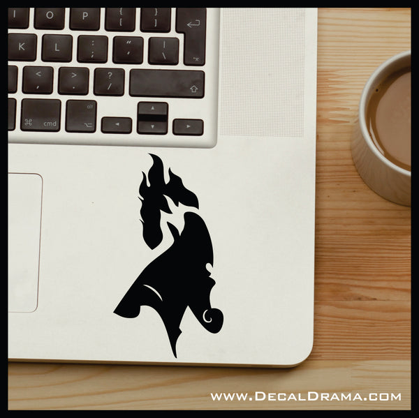 Hades silhouette, Hercules Villain, Vinyl Car/Laptop Decal