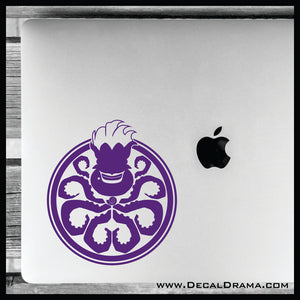 Hail Ursula! Little Mermaid Villain Vinyl Car/Laptop Decal