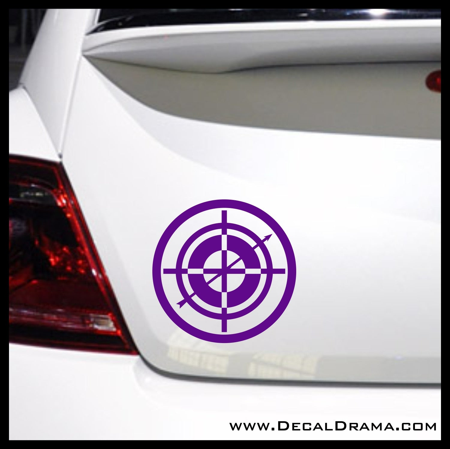 Hawkeye Target-Scope emblem, Marvel Comics Avengers, Vinyl Car/Laptop Decal