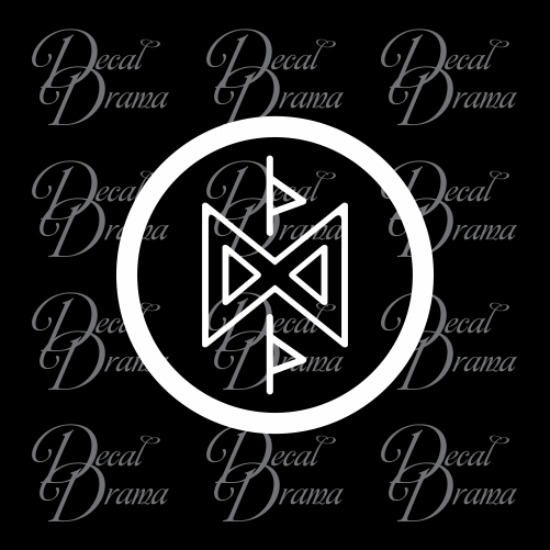 Hobbit symbol Fan Art Vinyl Car Decal