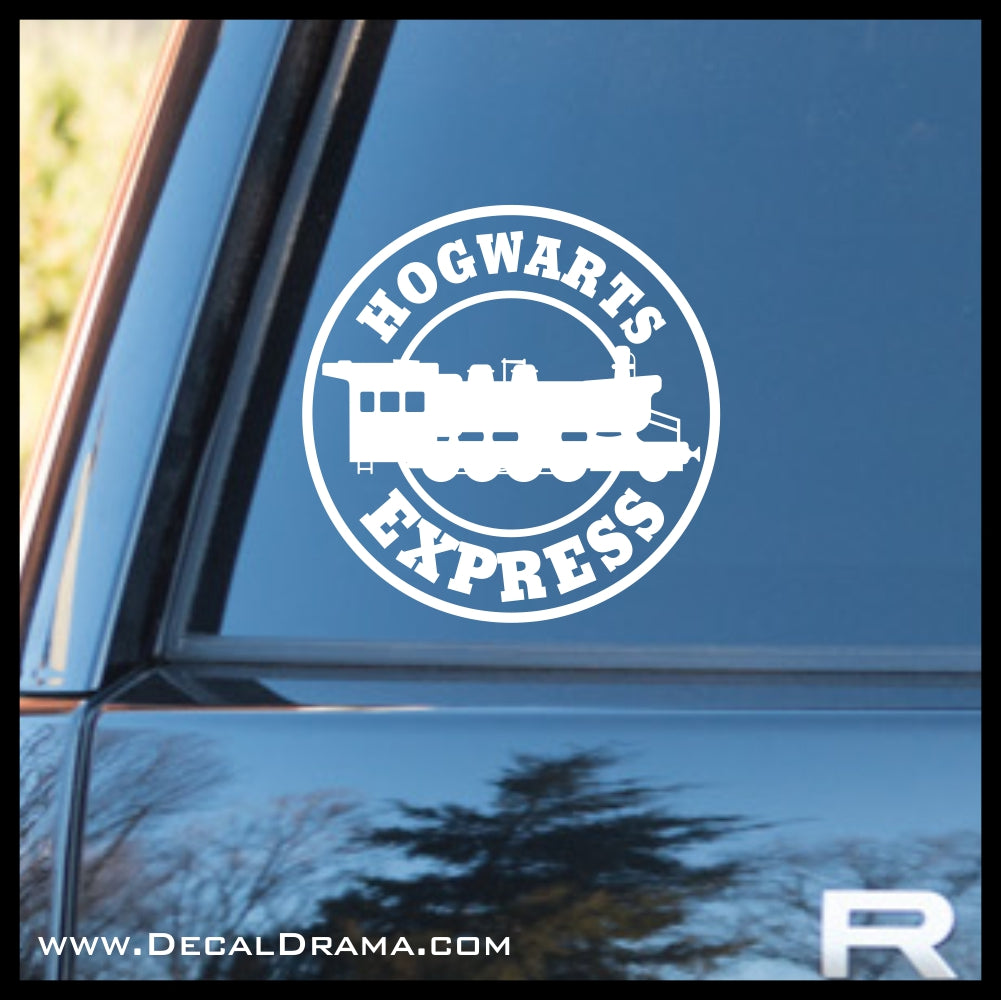 Hogwarts' Express patch, Harry Potter-inspired Fan Art, Vinyl Car/Laptop Decal