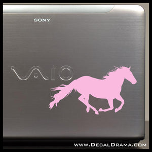 Cantering Horse Vinyl Car/Laptop Decal