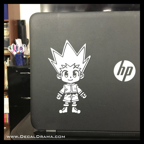 Gon freecs hunter x hunter vinyl car laptop decal