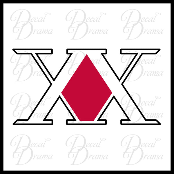 Hunter x Hunter License Vinyl Car/Laptop Decal