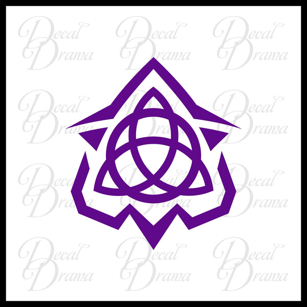Imad Crest Yu-Gi-Oh Zexal-inspired Vinyl Car/Laptop Decal