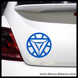 Ironman Heart emblem, Marvel Comics Avengers, Vinyl Car/Laptop Decal