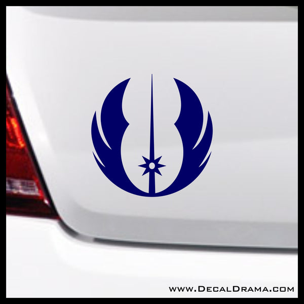 Jedi Order emblem, Star Wars-Inspired Fan Art Vinyl Wall Decal