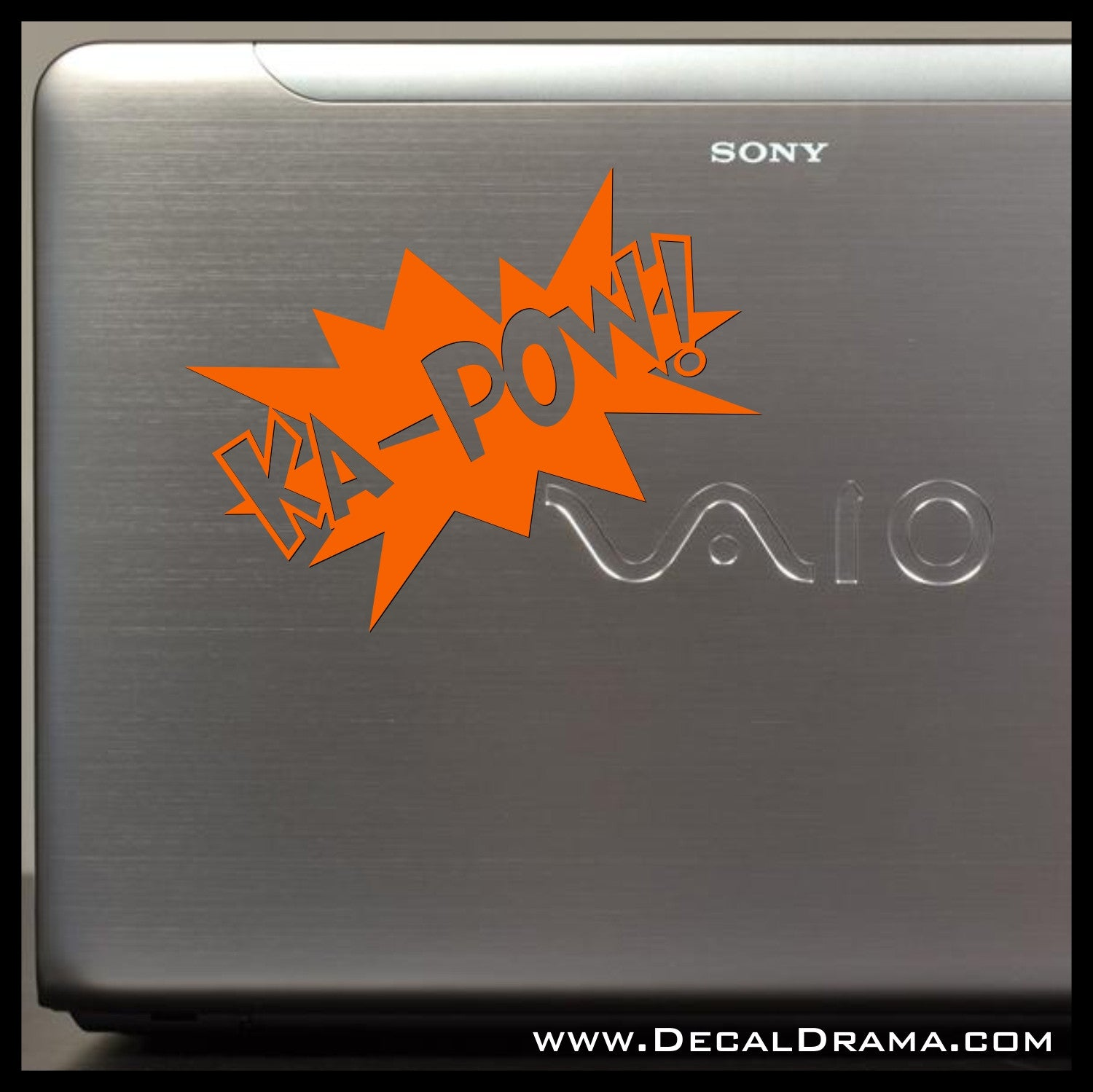 KA-POW! Comic Book Exclamation Vinyl Car/Laptop Decal