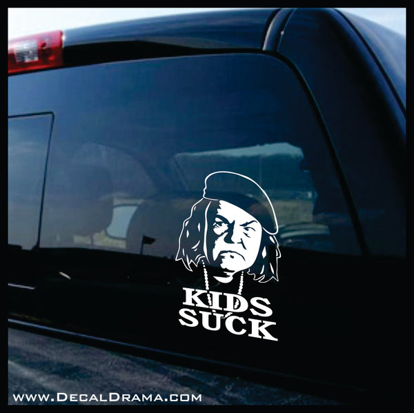 Mama Fratelli Kids Suck, Goonies-inspired Vinyl Car/Laptop Decal