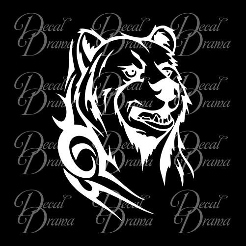 Koda Bear Vinyl Car/Laptop Decal