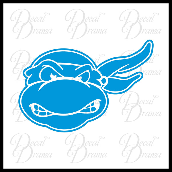 Leonardo, Teenage Mutant Ninja Turtles, TMNT-inspired Fan Art Vinyl Car/Laptop Decal