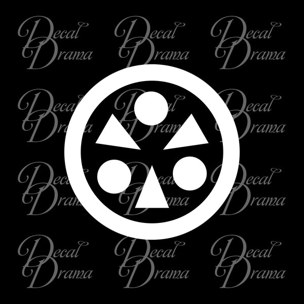 Light emblem Legend of Zelda Decal Vinyl Car/Laptop Decal