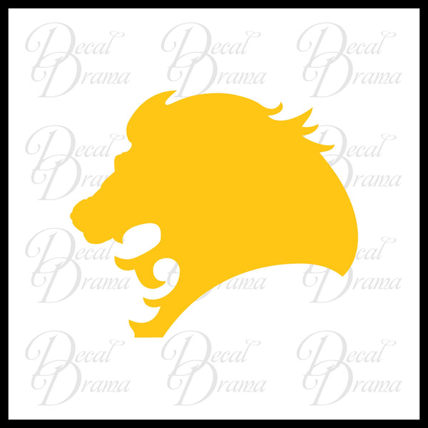 Lion Head Roar Vinyl Car/Laptop Decal