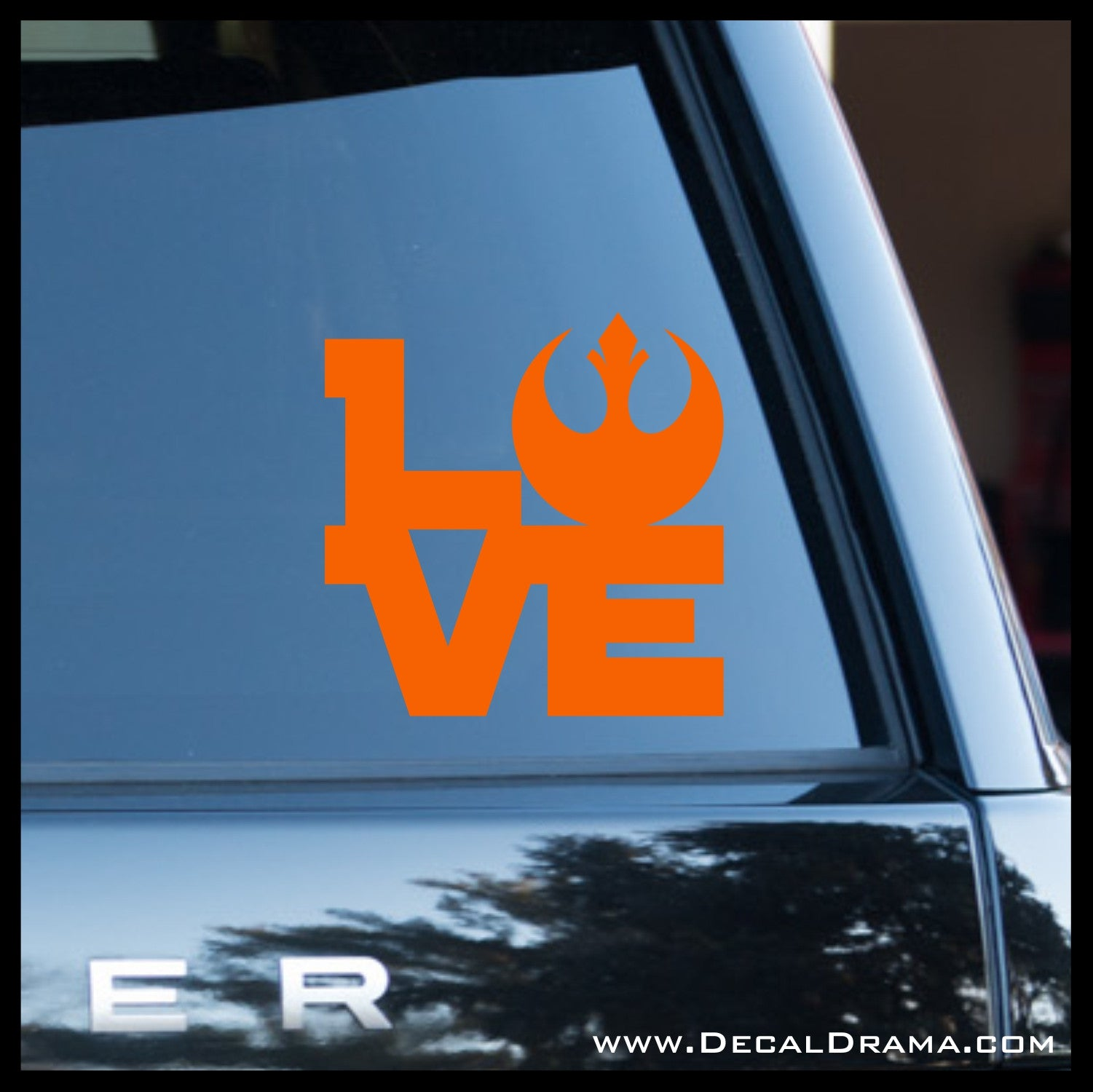 Love the Rebel Alliance, Star Wars-Inspired Fan Art Vinyl Wall Decal