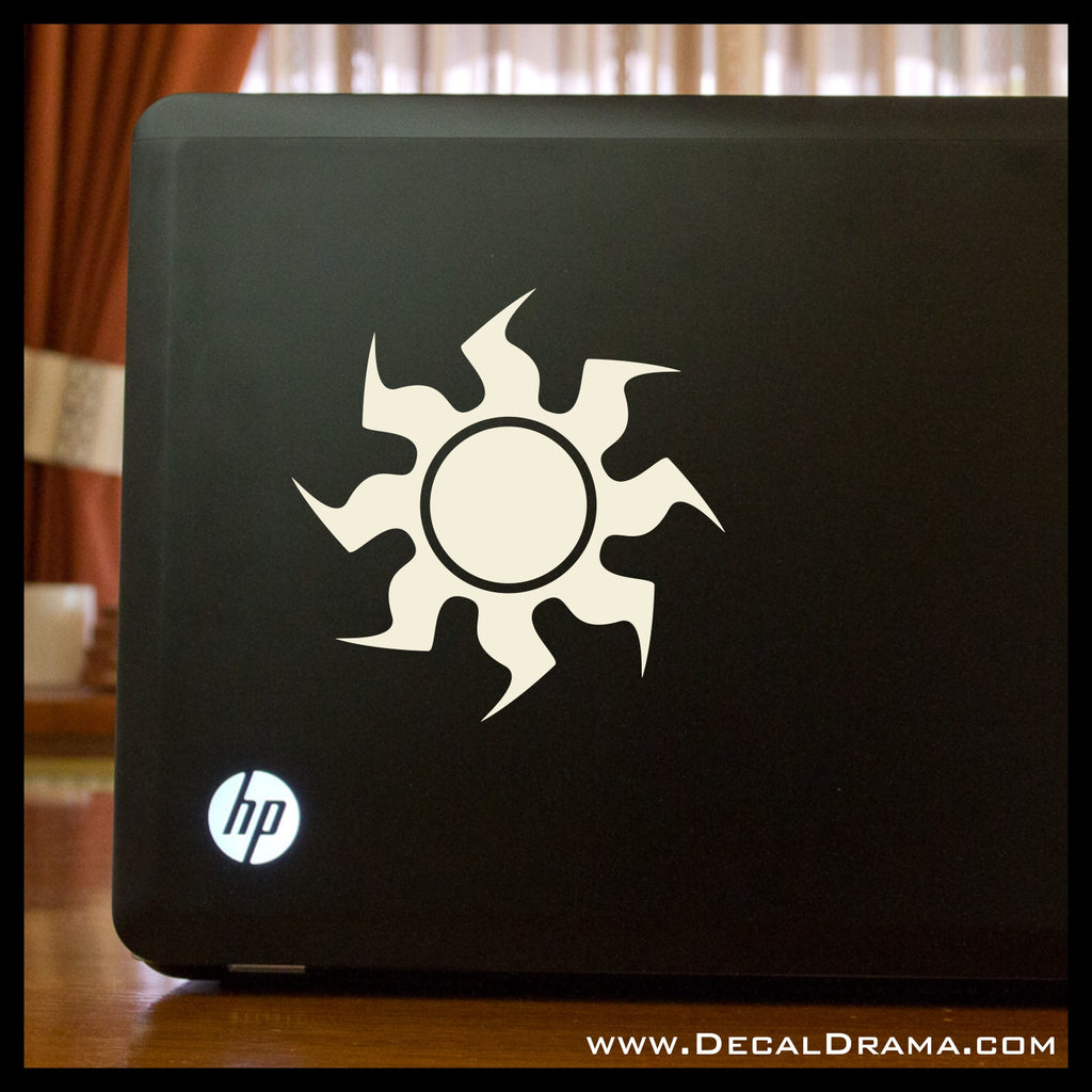 Mtg Plains White Magic The Gathering Inspired Vinyl Carlaptop Decal