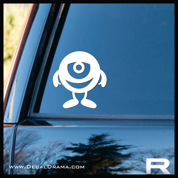 Marble Mini Monster Vinyl Car/Laptop Decal