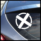 Martian Manhunter emblem, DC Comics-inspired Fan Art Vinyl Car/Laptop Decal