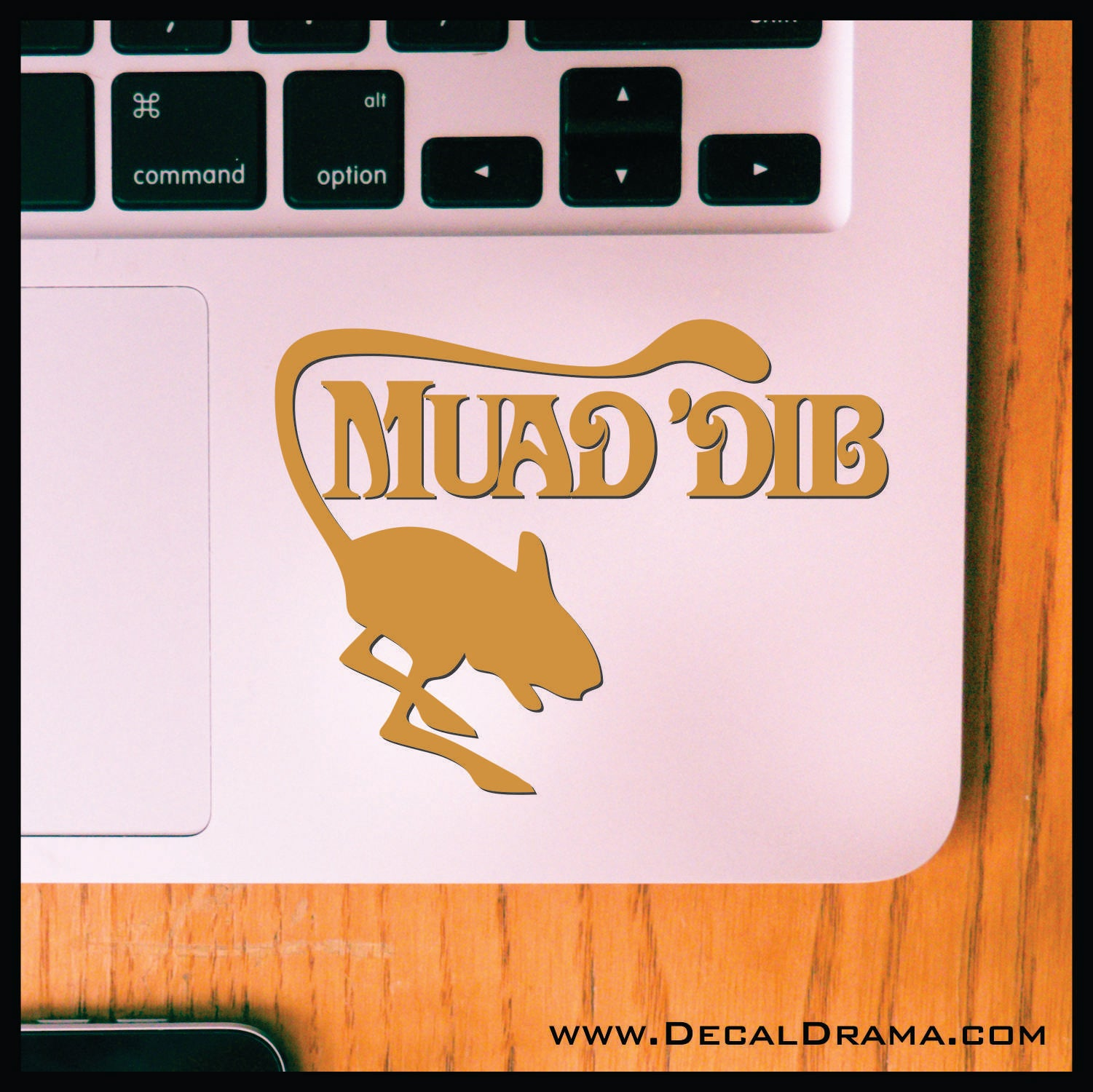 Muad'Dib mouse Frank Herbert's Dune Fan Art Vinyl Decal