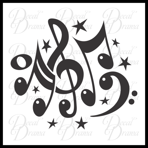 Music Jubilee Vinyl Car/Laptop Decal