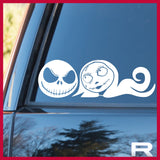 Sally, Jack Skellington's Girlfriend, Nightmare Before Christmas-inspired Fan Art Vinyl Car/Laptop Decal