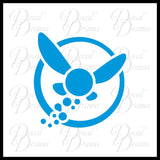 Navi, Zelda Fairy, Legend of Zelda Decal Vinyl Car/Laptop Decal