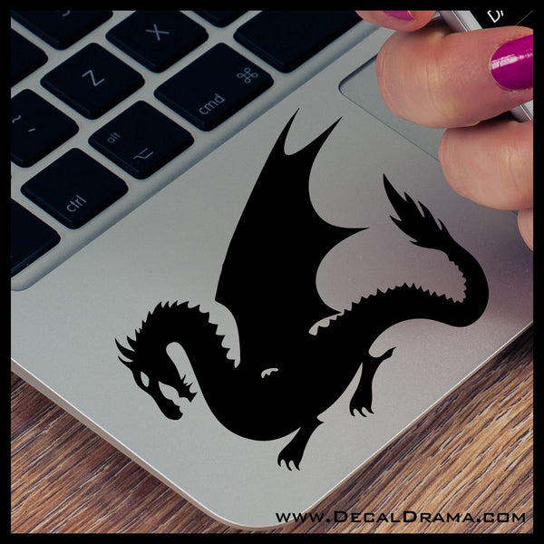 Night Shadow Dragon Vinyl Car/Laptop Decal