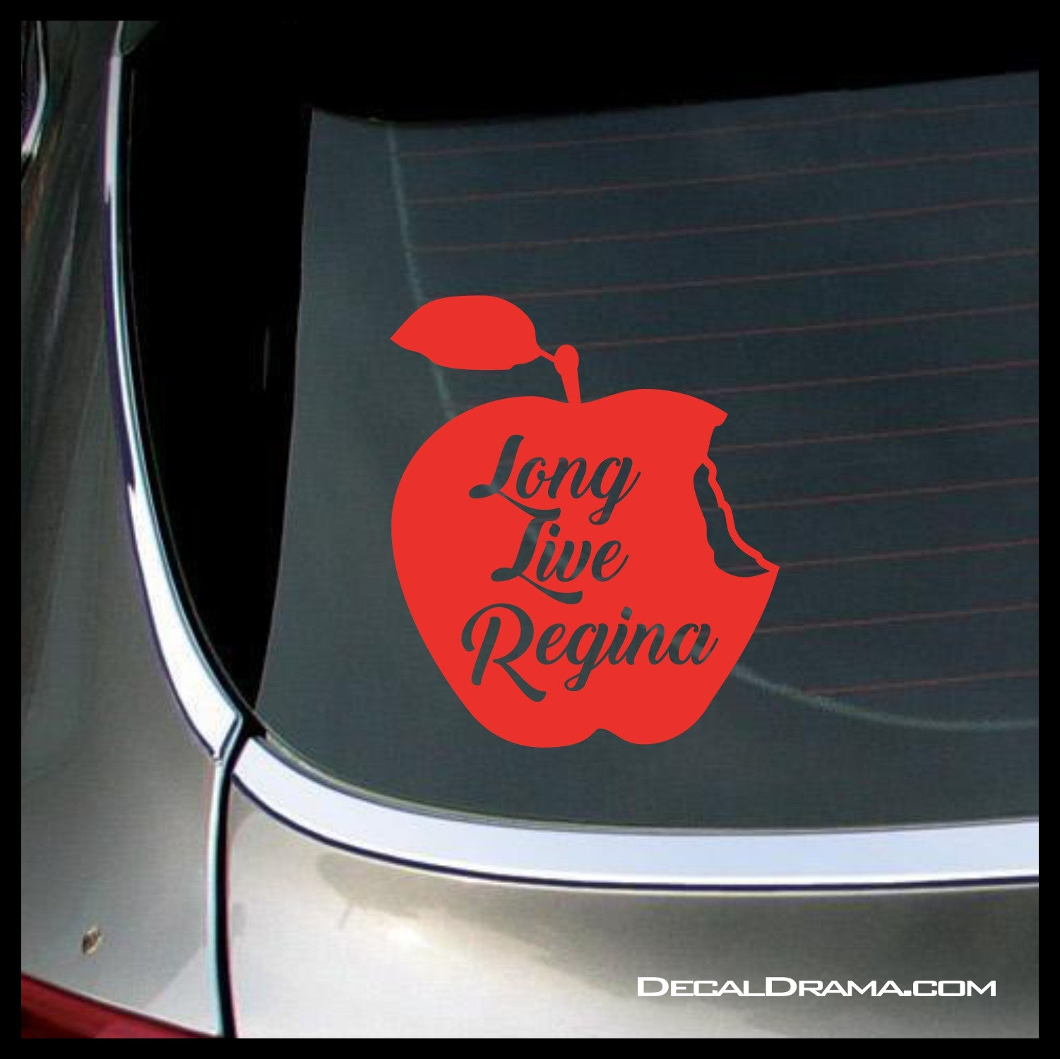 Long Live Regina, Evil Queen, OUAT-inspired Vinyl Car/Laptop Decal