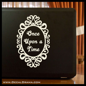 Once Upon a Time mirror, OUAT-inspired Vinyl Car/Laptop Decal