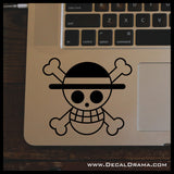 Straw Hat Pirates flag, One Piece-inspired Vinyl Car/Laptop Decal