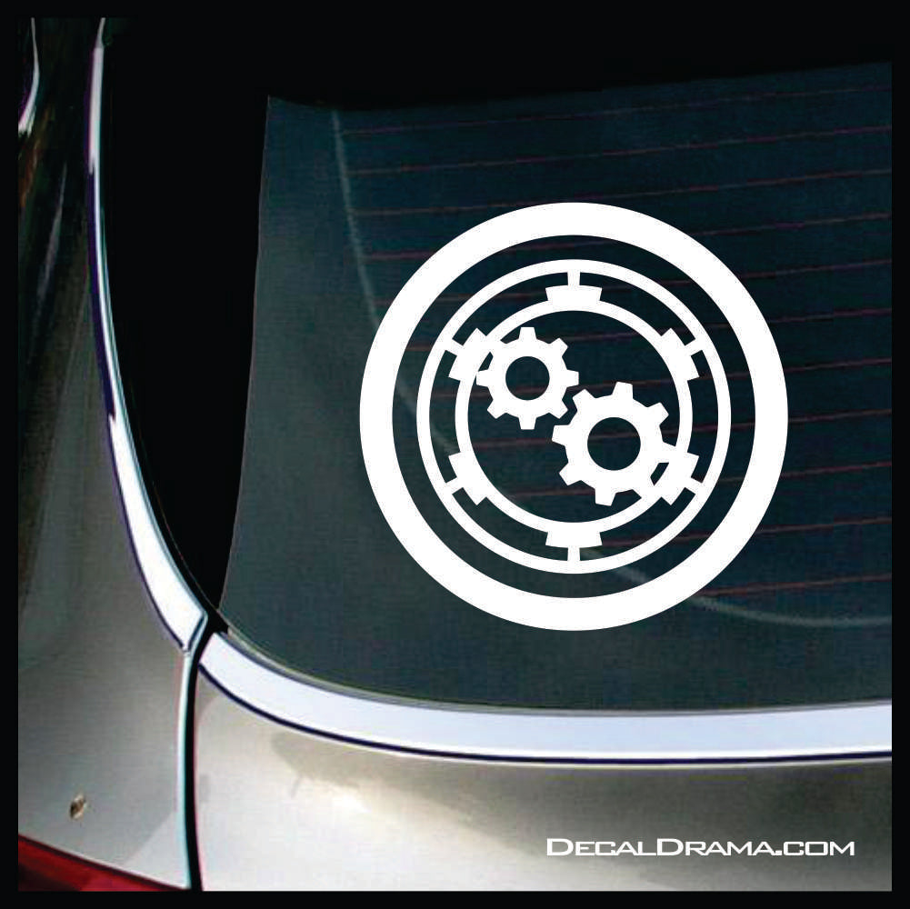 Orville Engineering insignia Vinyl Car/Laptop Decal