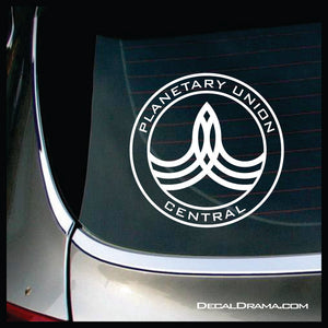 Orville Planetary Union insignia Vinyl Car/Laptop Decal