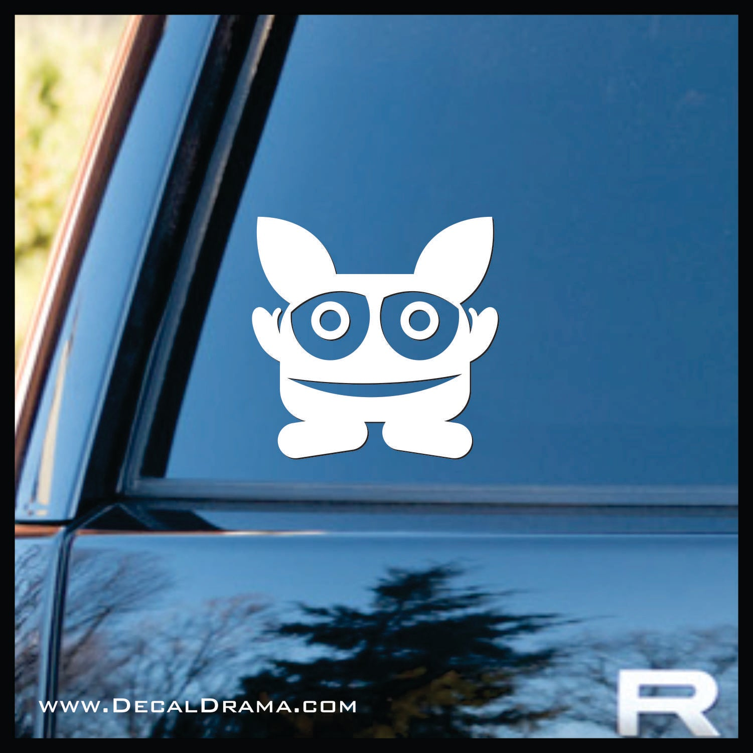 Perks Mini Monster Vinyl Car/Laptop Decal