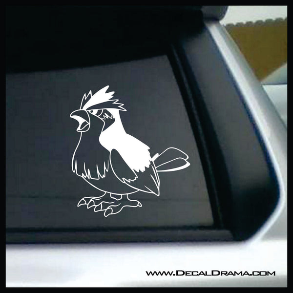 Pidgey avatar Pokemon, PokemonGO Vinyl Car/Laptop Decal