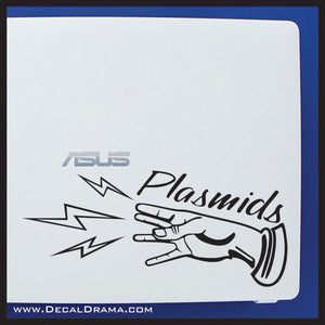 Plasmids Hand Electro Shock, Bioshock-inspired Vinyl Decal