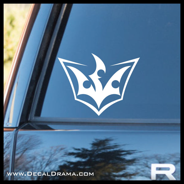 Quattro Crest Yu-Gi-Oh Zexal-inspired Vinyl Car/Laptop Decal