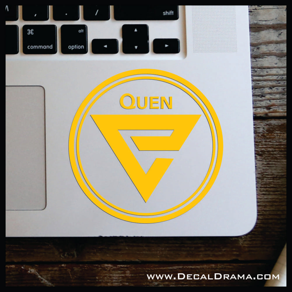 Quen sign glyph, The Witcher-inspired Car/Laptop Decal