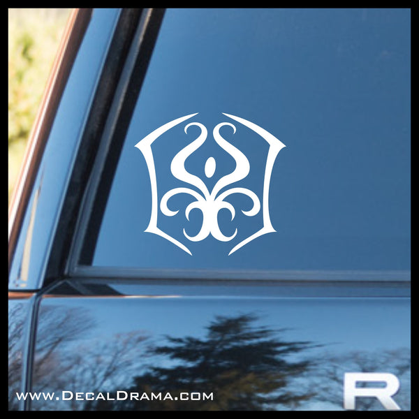 Quinton's Crest Yu-Gi-Oh Zexal-inspired Vinyl Car/Laptop Decal