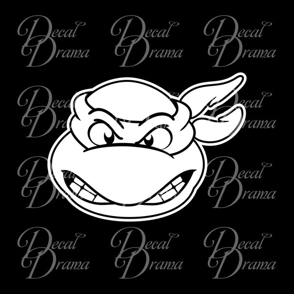 Raphael, Teenage Mutant Ninja Turtles, TMNT-inspired Fan Art Vinyl Car/Laptop Decal