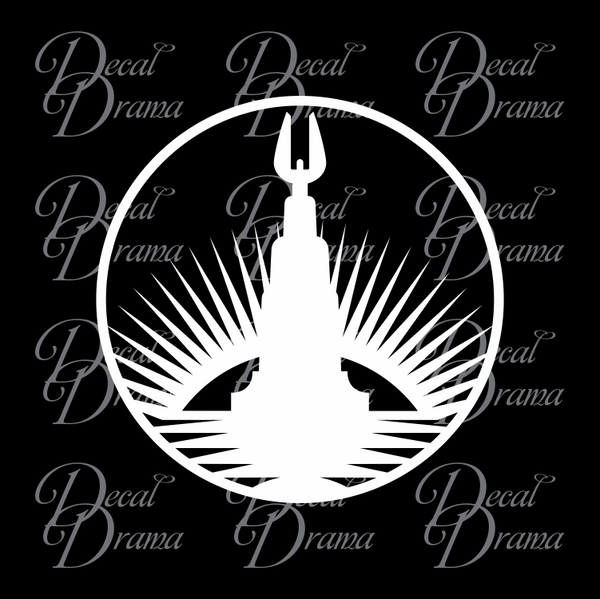 Rapture Lighthouse, Bioshock-inspired Vinyl Decal