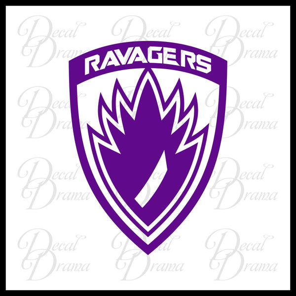 Ravagers emblem, Guardians of the Galaxy-inspired Fan Art Vinyl Car/Laptop Decal