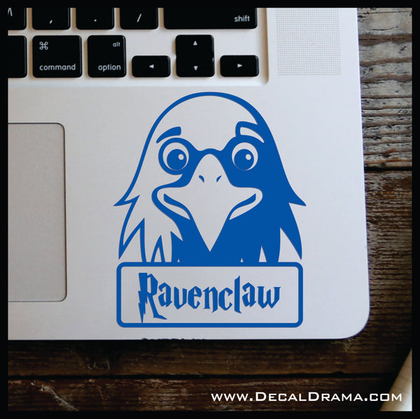 Ravenclaw Eagle chibi, Harry Potter-inspired Fan Art Vinyl Car/Laptop Decal