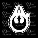 Renegade Squadron, Star Wars-Inspired Fan Art Vinyl Wall Decal