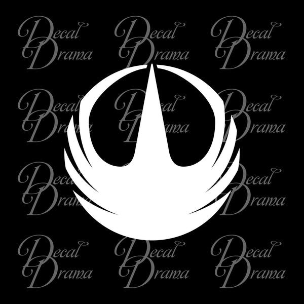 Rogue One phoenix emblem, Star Wars-Inspired Fan Art Vinyl Wall Decal