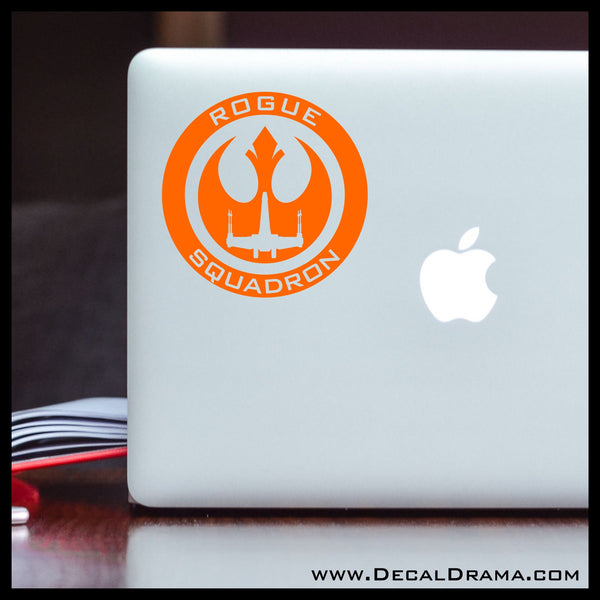 Rogue Squadron Rebel Alliance emblem, Star Wars-Inspired Fan Art Vinyl Wall Decal