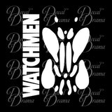 Rorschach symbol, Watchmen-inspired, DC Comics Vinyl Car/Laptop Decal