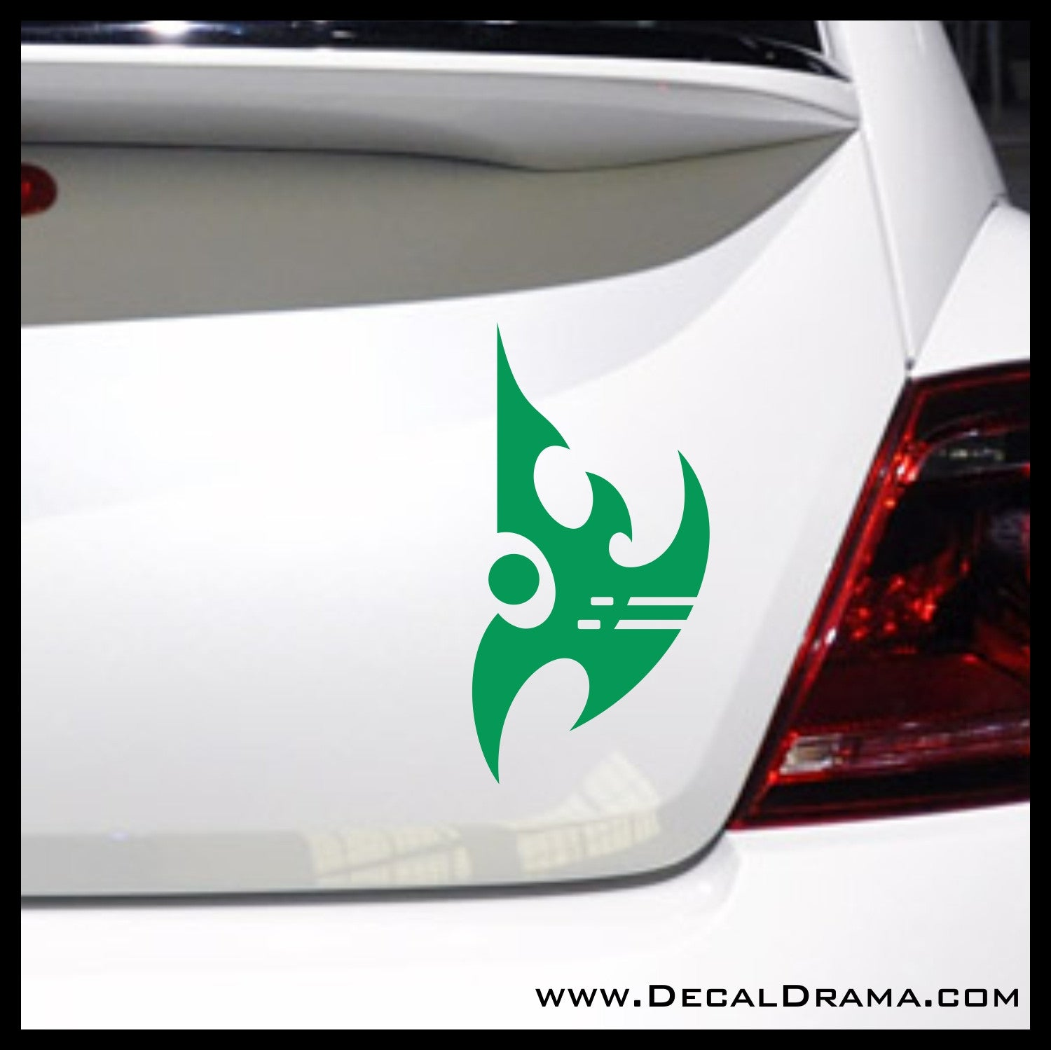 Protoss emblem, StarCraft 2-inspired Vinyl Car/Laptop Decal