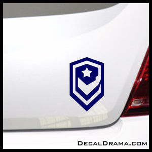 Terran Dominion emblem, StarCraft 2-inspired Vinyl Car/Laptop Decal