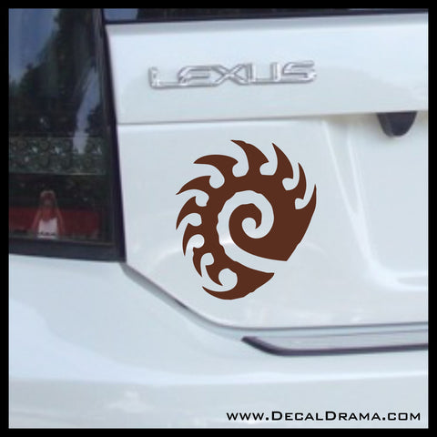 Zerg emblem, StarCraft 2-inspired Vinyl Car/Laptop Decal