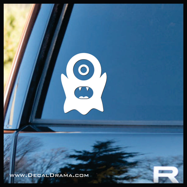 Screech Mini Monster Vinyl Car/Laptop Decal