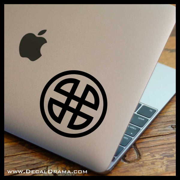 Shield Knot, Teen Wolf-inspired Vinyl Car/Laptop Decal